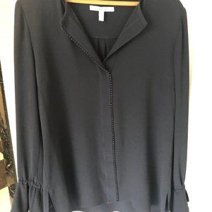Derek Lam Crosby 10 long sleeve blouse with ties